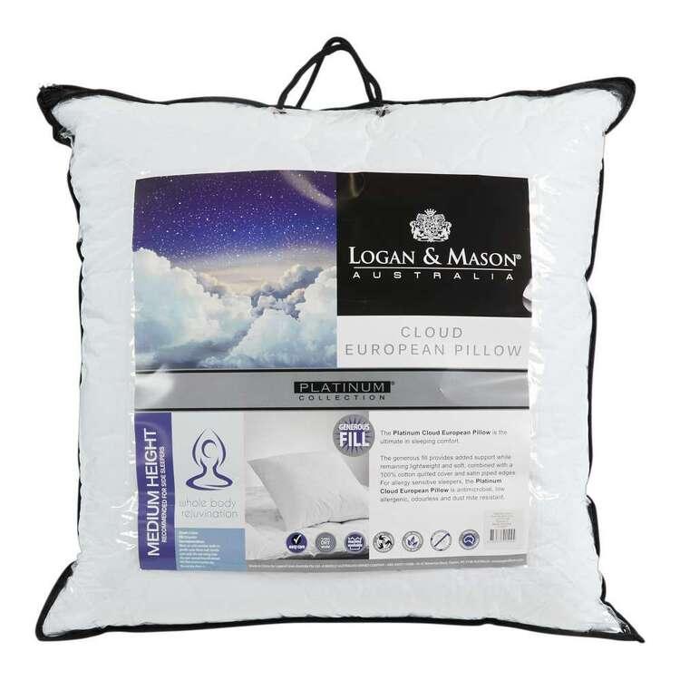 Logan & Mason Platinum Collection Cloud European Pillow