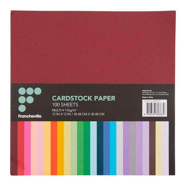 Francheville Cardstock 100 Pack