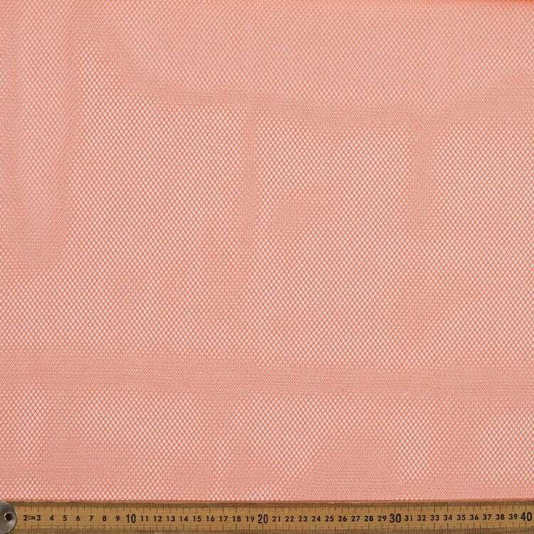 Plain 145 cm 2 Way Stretch Net Fabric