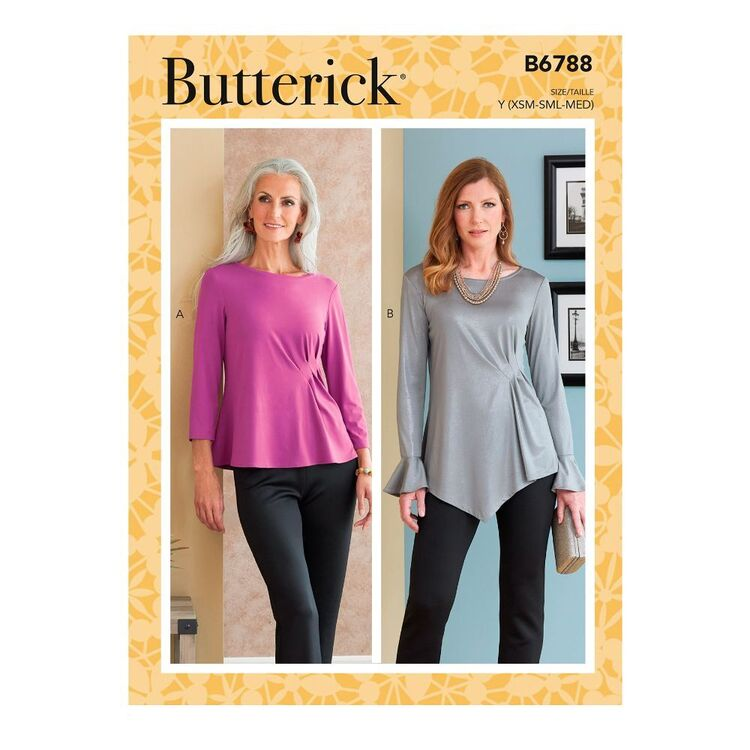 Butterick Sewing Pattern B6788 Misses' Top