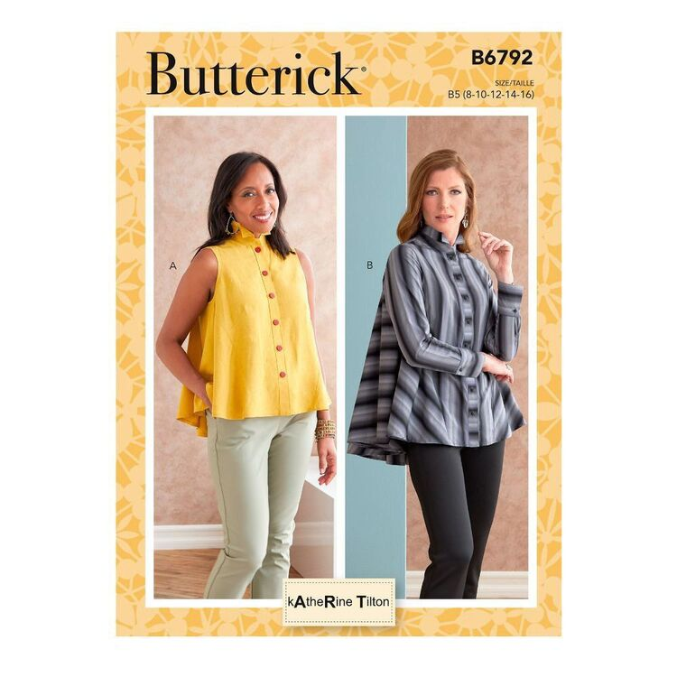 Butterick Sewing Pattern B6792 Misses' Top
