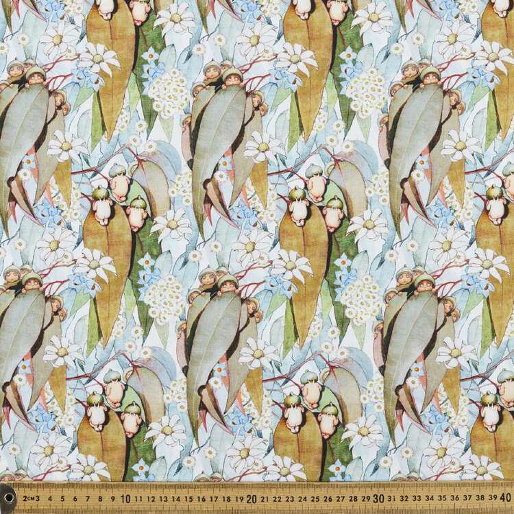May Gibbs Gumnut Babies Organic Homespun Cotton