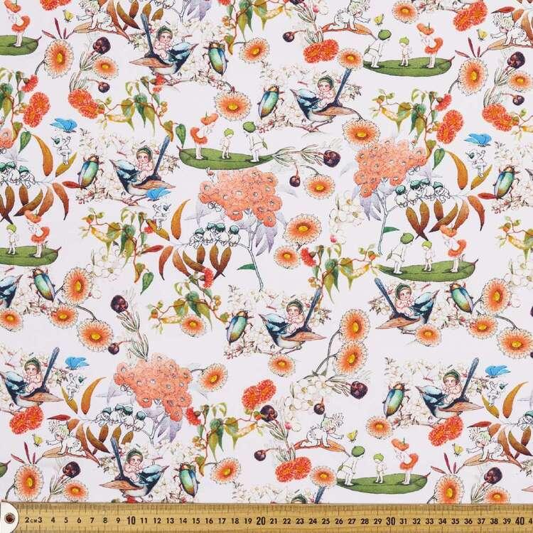 May Gibbs Vintage Blossom Cotton Spandex