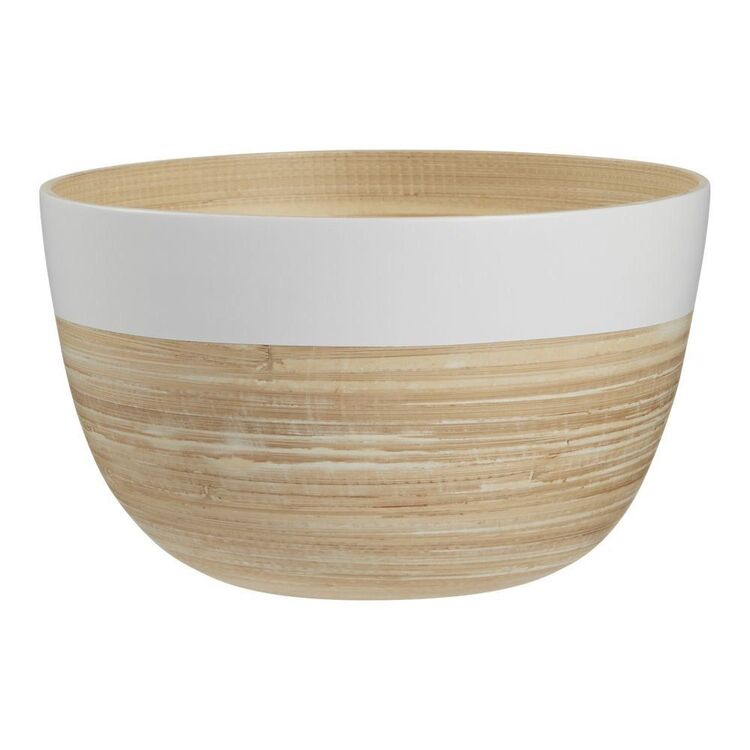 Culinary Co Oasis 22 cm Bamboo Bowl