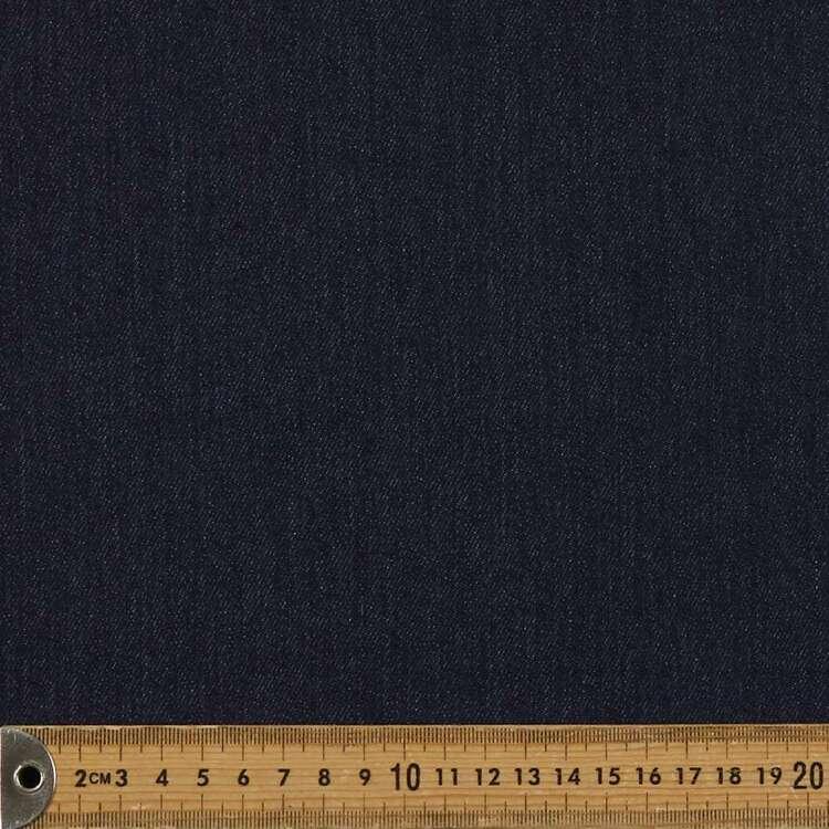 Plain 145 cm Ringspun Stretch Denim Fabric