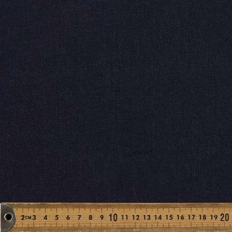 Plain 150 cm Ringspun Stretch Denim Fabric