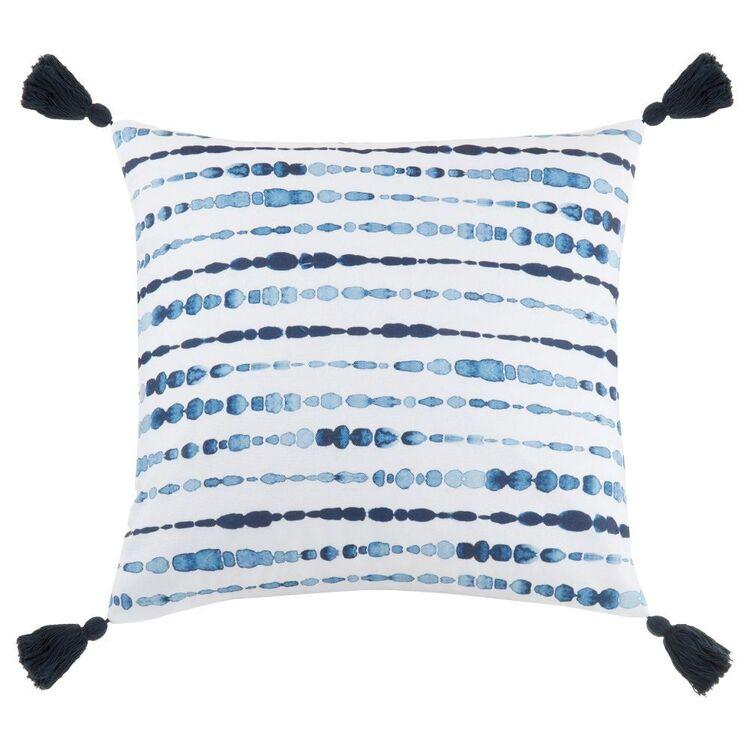 Bouclair Mykonos Tie Dye Cushion