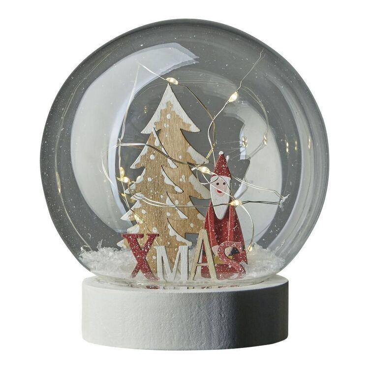 Emporium Illuminated Christmas Santa Snowglobe