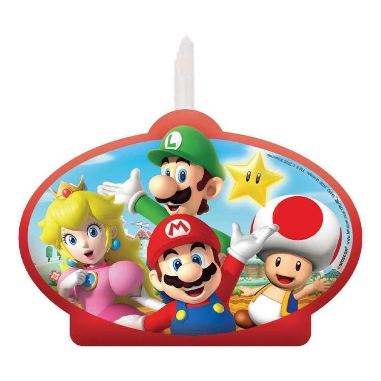 Super Mario Bros Cake Candle