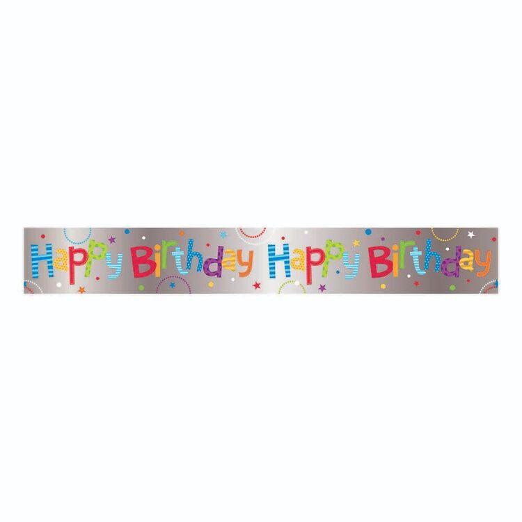 Artwrap Happy Birthday Banner