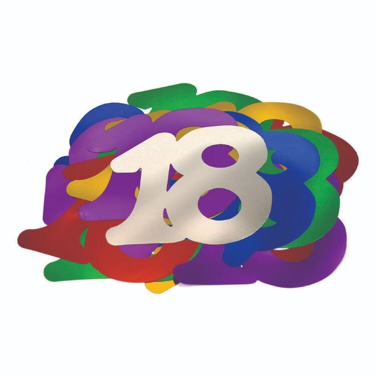 Artwrap 18th Birthday Giant Confetti