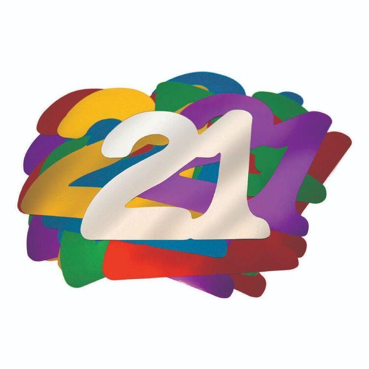 Artwrap 21st Birthday Giant Confetti