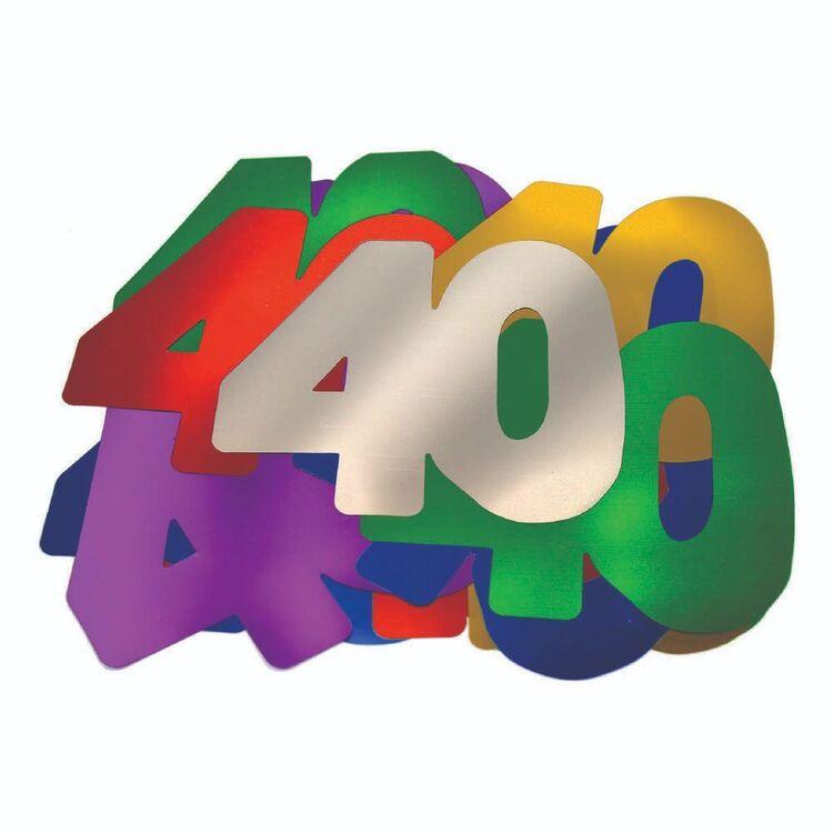 Artwrap 40th Birthday Giant Confetti