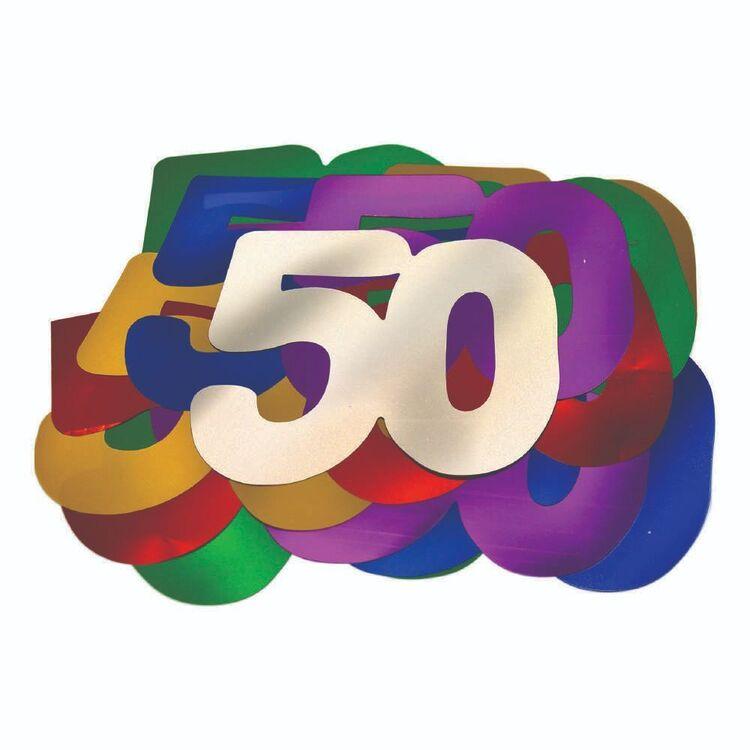 Artwrap 50th Birthday Giant Confetti