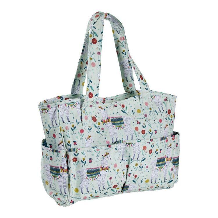 Sew Easy Llama Print Knitting Bag