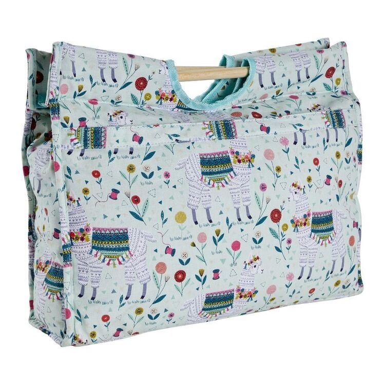 Sew Easy Llama Basket Knitting Bag