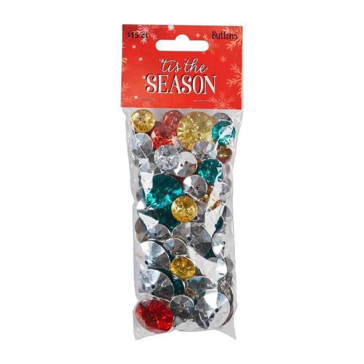 Christmas Gems Buttons