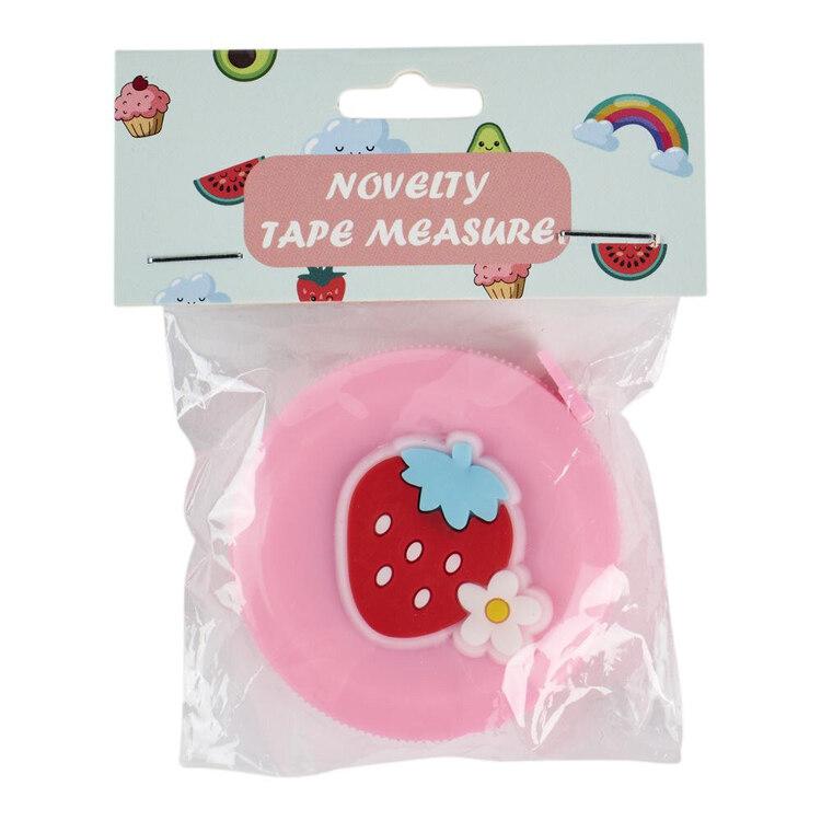 Strawberry Novelty Tape Measure