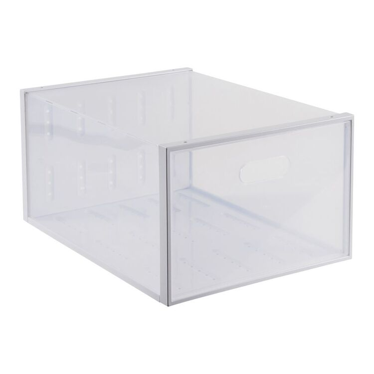 Living Space Large Collapsible Shoe Box
