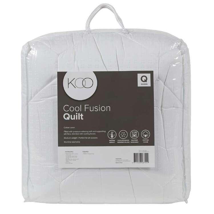 KOO Cool Fusion Gel Bead 300gsm Quilt