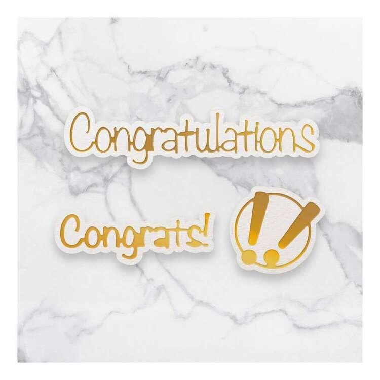Couture Creations Mini Congrats! Die Cut
