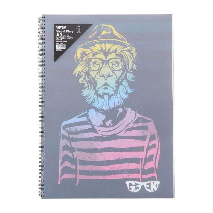 Geek Visual Lion Diary