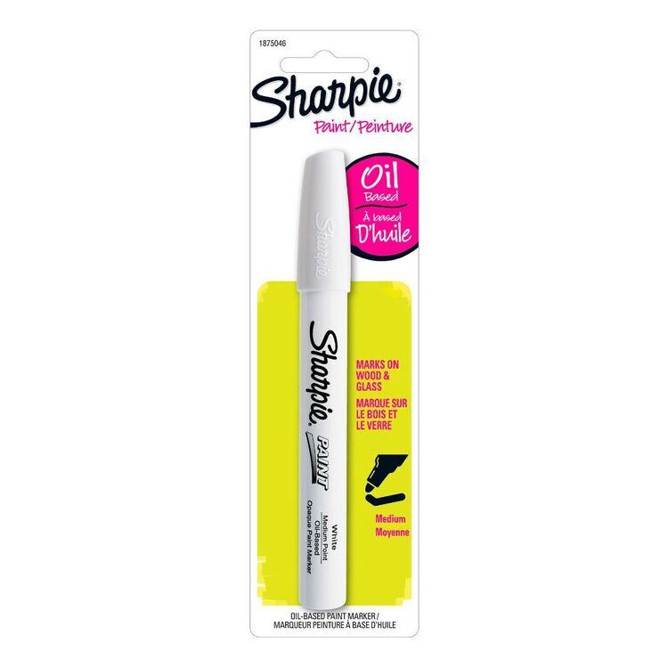 Sharpie White Oil Paint Marker