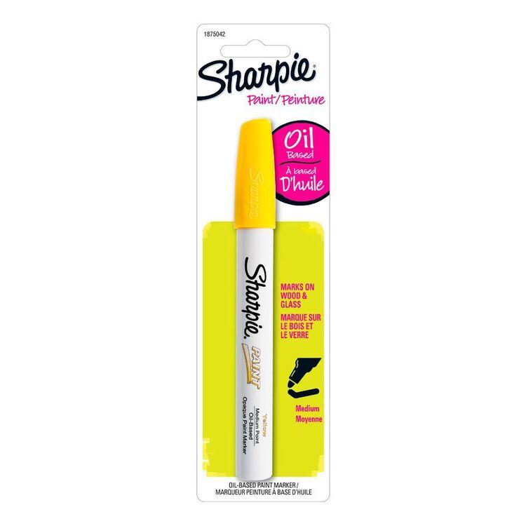 Sharpie Yellow Oil Paint Marker