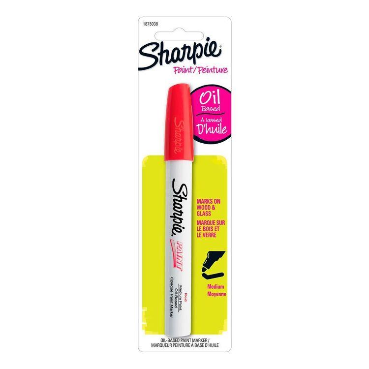 Sharpie Red Oil Paint Marker