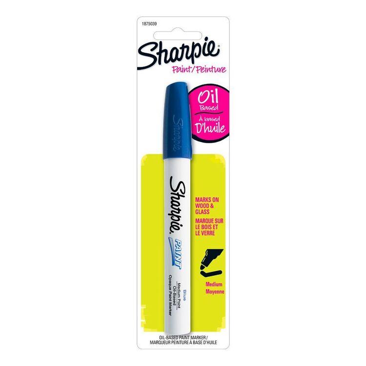 Sharpie Blue Oil Paint Marker