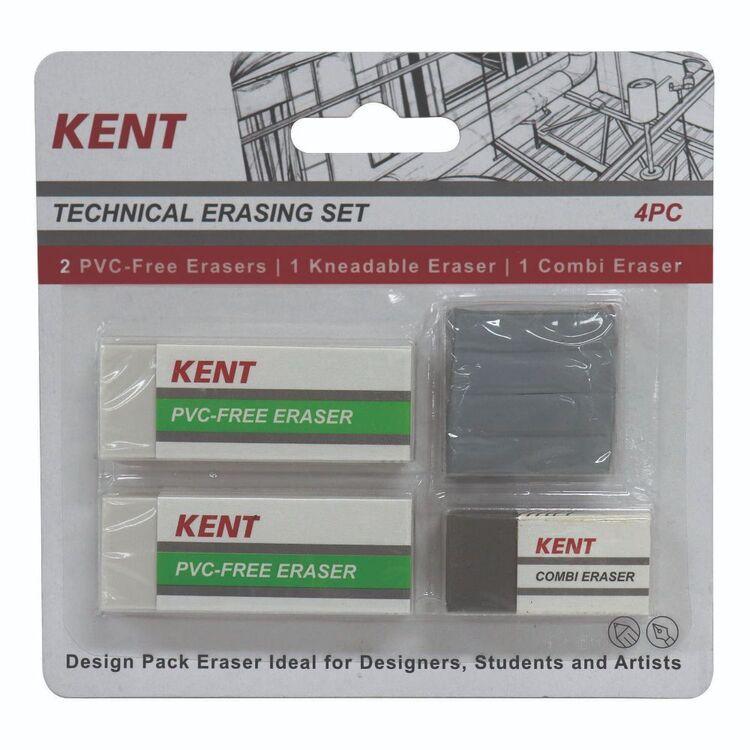 Kent Technical Eraser 4 Pack