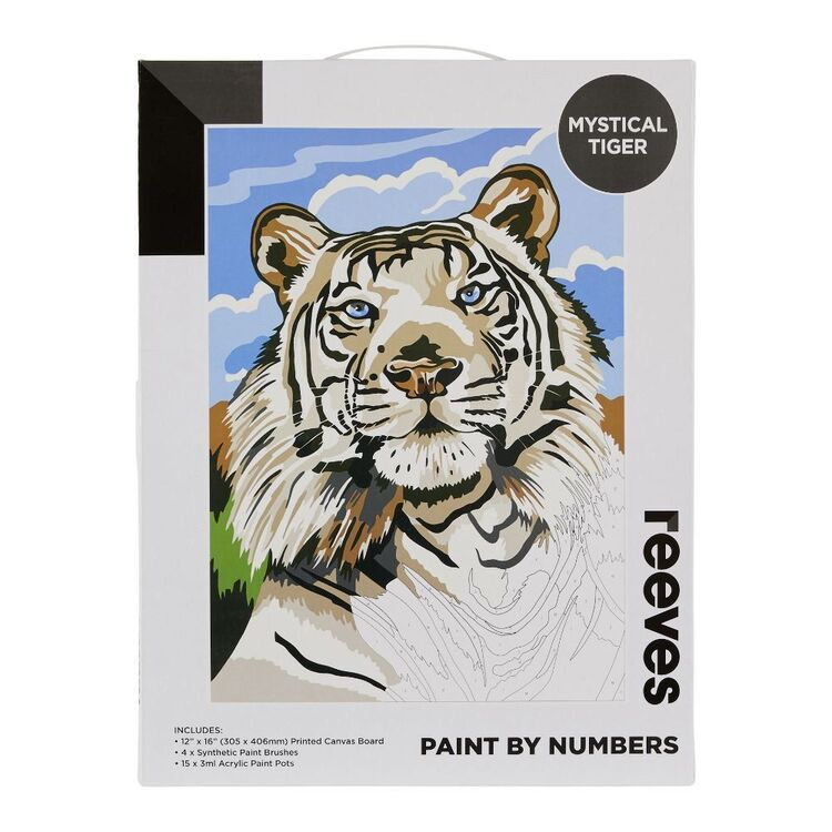 Reeves Paint By Numbers Mystical Tiger