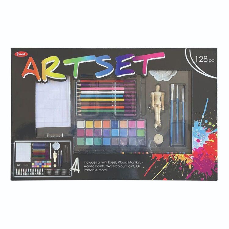Jasart Art Set 128 Pieces