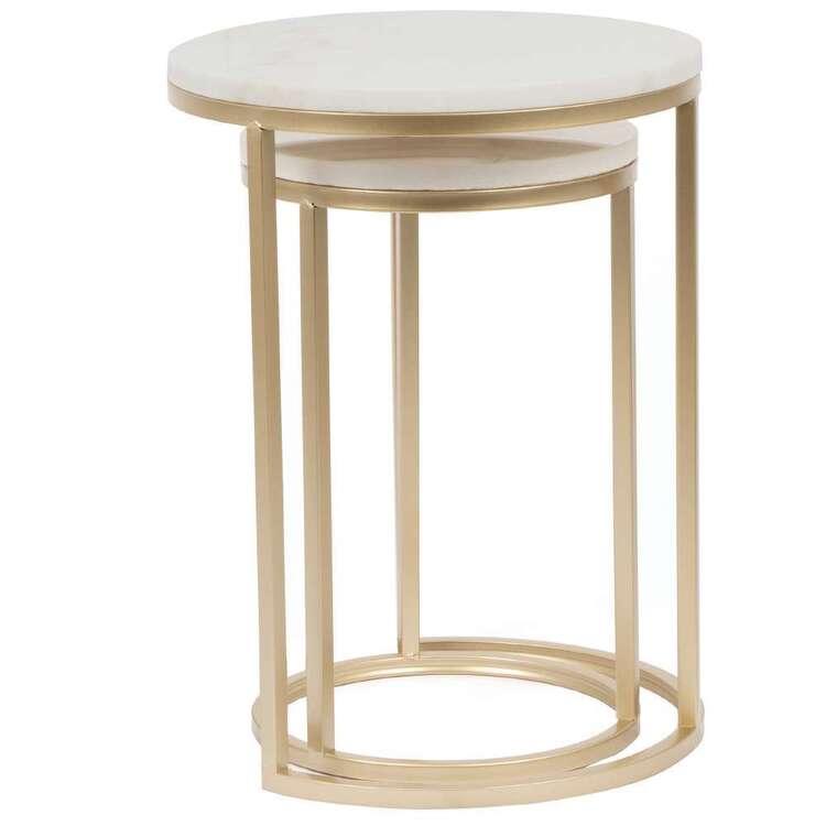 Cooper & Co Set Of 2 Side Tables