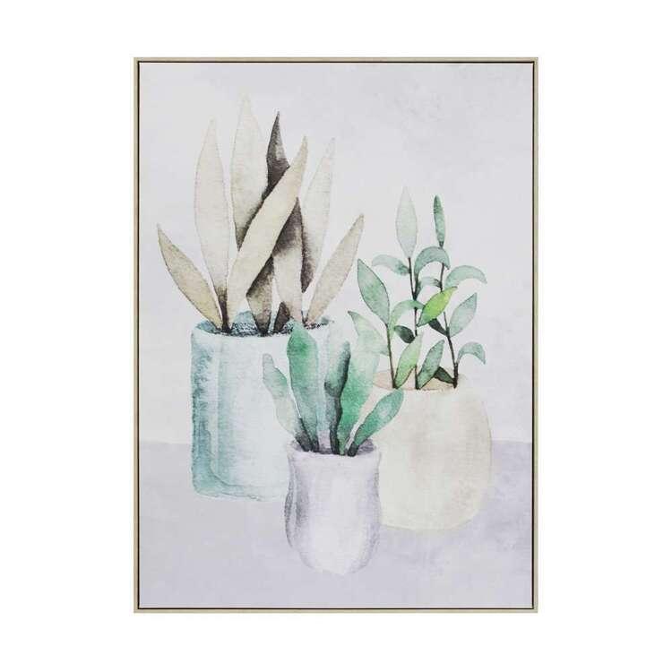 Cooper & Co Garden Pots Framed Print