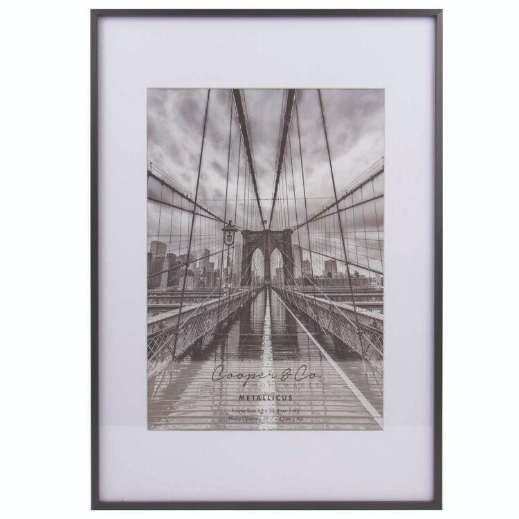 Cooper & Co A2 / A3 Platinum Metallic Frame