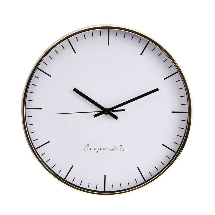 Cooper & Co 30 cm Nelson Wall Clock