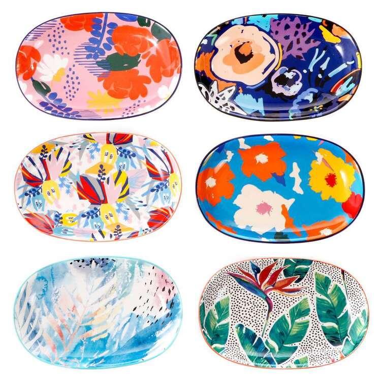 Cooper & Co Garden Lifestyle Plates Set Of 6 Designs