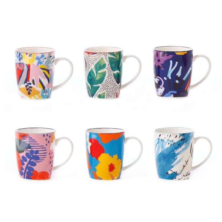 Cooper & Co Garden Lifestyle Mugs Set Of 6 Designs