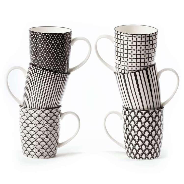 Cooper & Co Modern Life Mugs Set Of 6 Designs