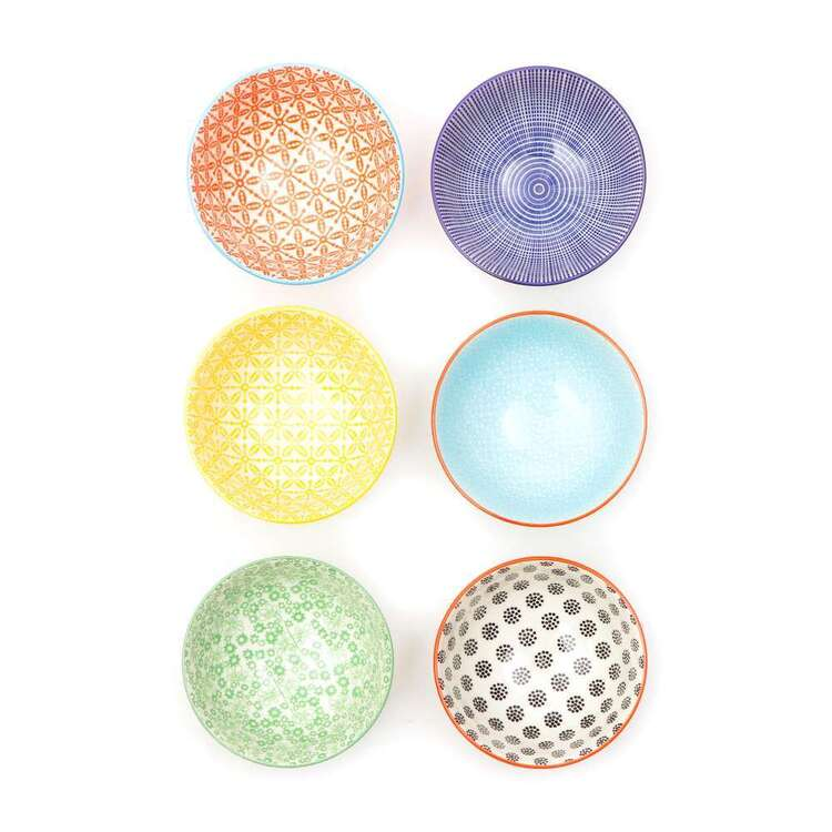 Cooper & Co Urban Trend Small Bowls Set Of 6 Designs
