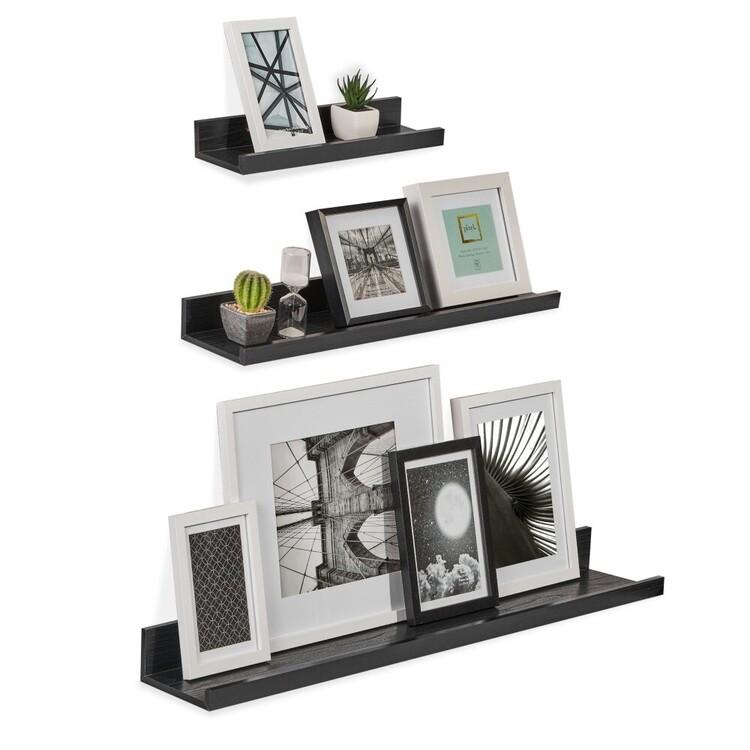 Cooper & Co Set of 3 Wall Shelves