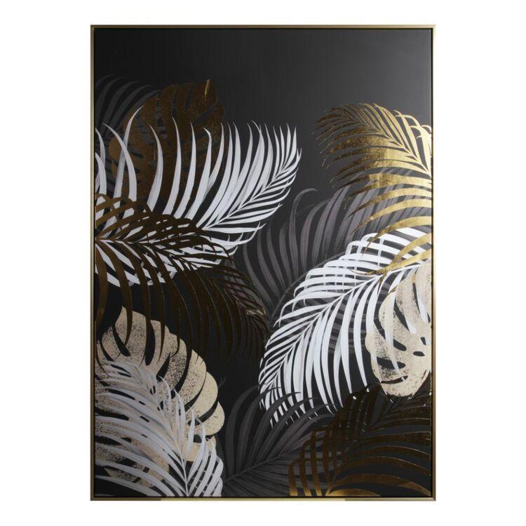 Cooper & Co Gold Brush Framed Print