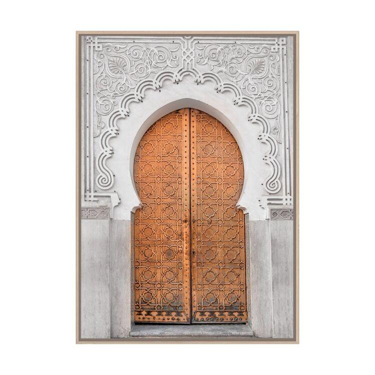 Cooper & Co Moorish Doors Framed Print