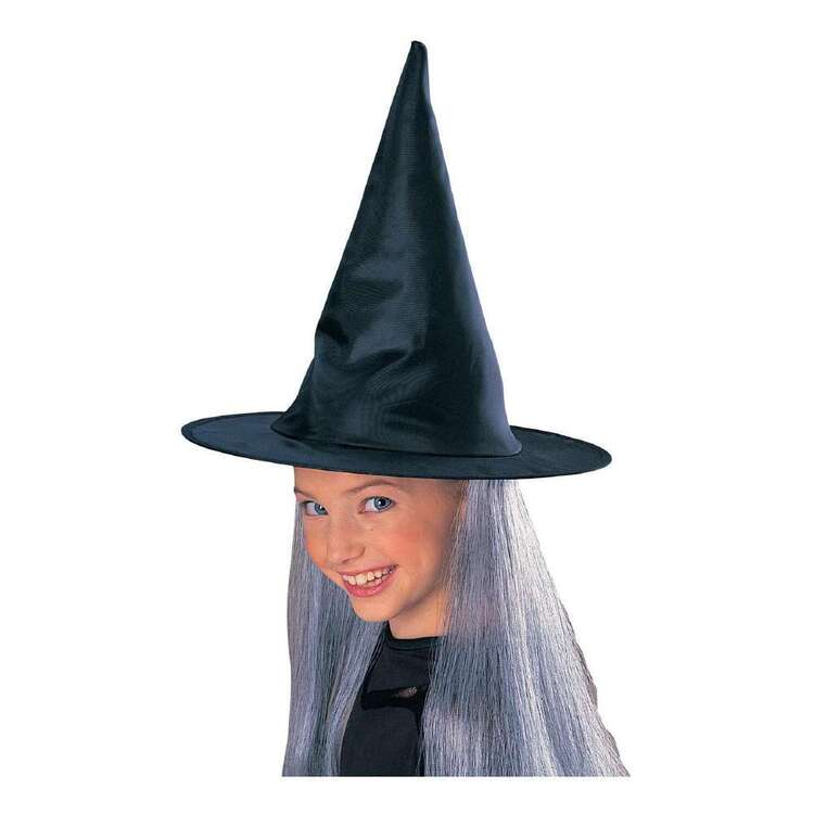 Kids Witch Hat With Hair