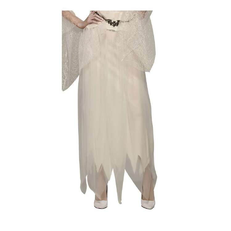 Ghostly White Adult Skirt