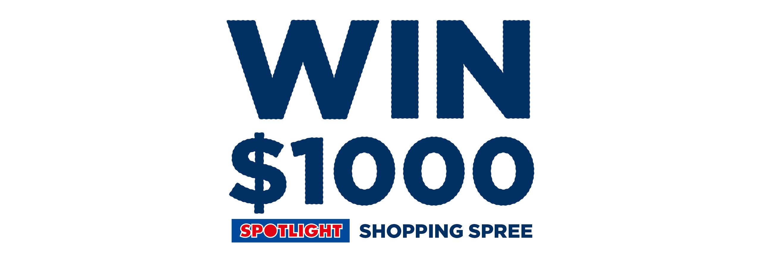 WIN a Spotlight Shopping Spree