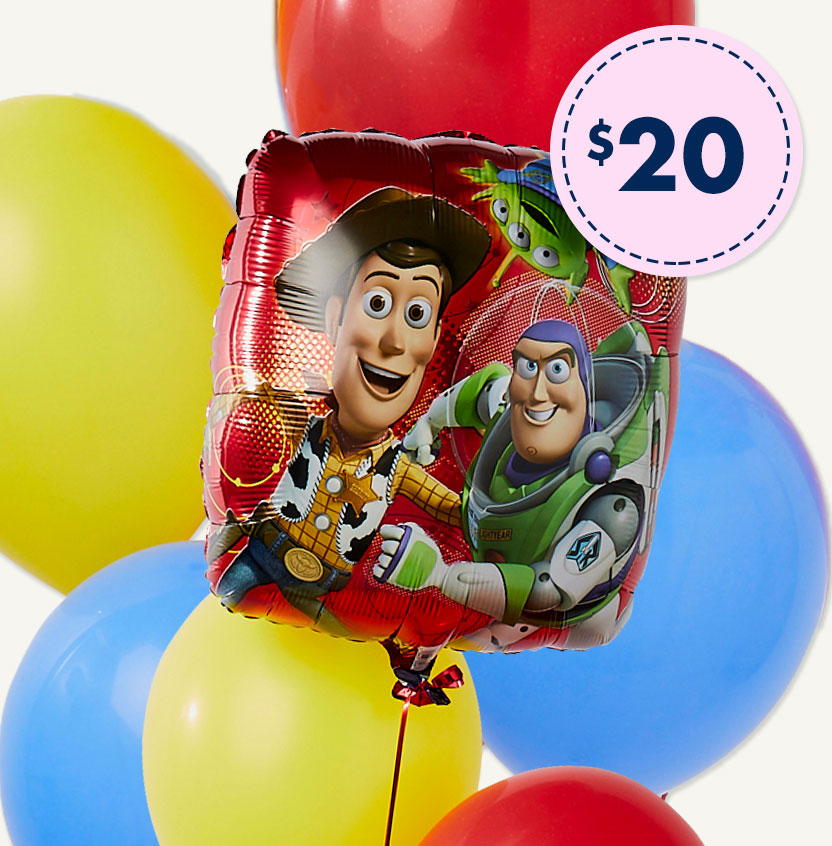 Toy Story Birthday Balloon Bouquet