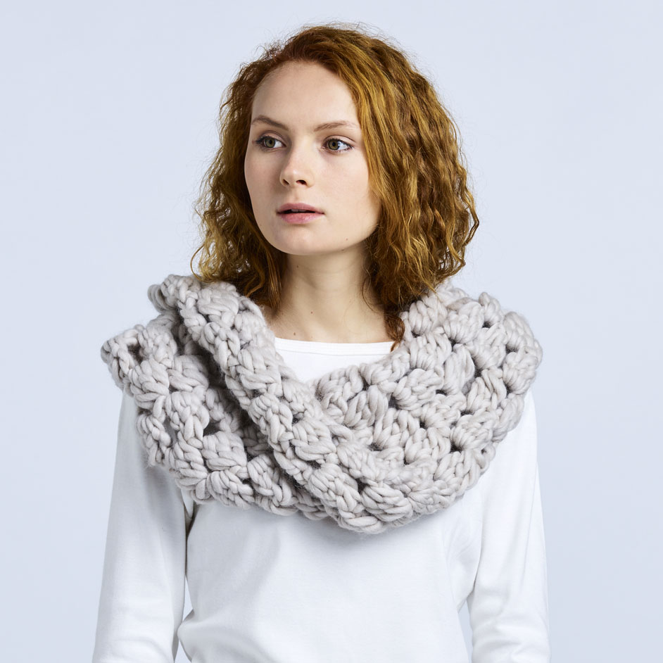 Abbey Road Born To Be Wool Cowl Project