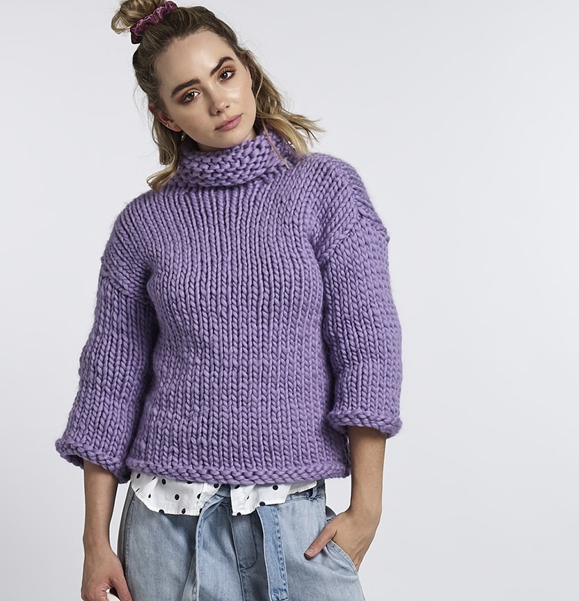 Abbey Road Born To Be Wool Oversized Jumper Project